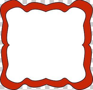 Borders And Frames Frame Red Free Content PNG