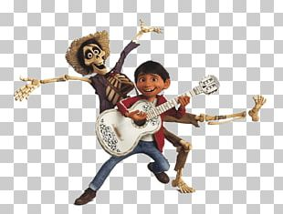 Miguel And Hector Playing Music PNG