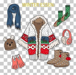 Winter Clothing Euclidean PNG