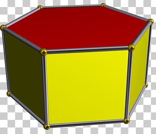 Hexagonal Prism Polyhedron Geometry PNG