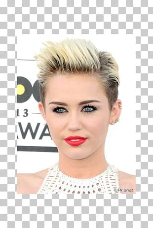 Miley Cyrus Pixie Cut Hairstyle Fashion PNG