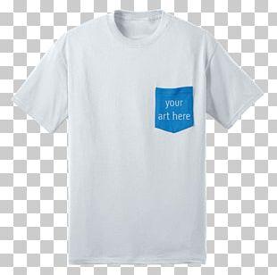 T-shirt Sleeve Crew Neck Pocket PNG