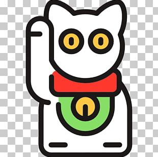 Japan Computer Icons Maneki-neko Luck PNG