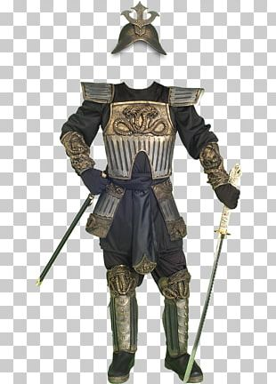 Costume Party Samurai Halloween Costume Body Armor PNG