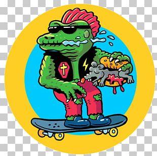 Skateboard Graffiti PNG