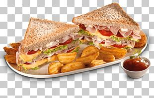Breakfast Sandwich Toast Ham And Cheese Sandwich Fast Food PNG