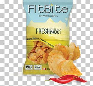 Junk Food Potato Chip Flavor Cassava PNG