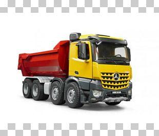 Mercedes-Benz Arocs Car Dump Truck PNG