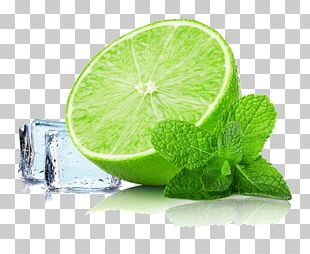Mojito Juice Cocktail Lime Ice Cube PNG