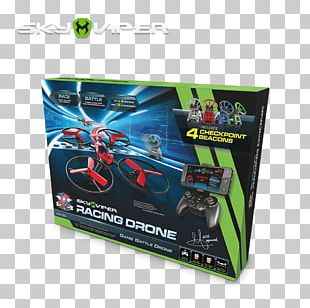 Drone Racing Quadcopter Unmanned Aerial Vehicle MDA Racing Sky Viper Hover Racer PNG