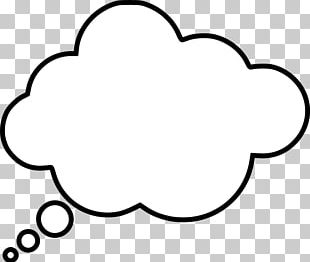 Speech Balloon Thought Bubble PNG