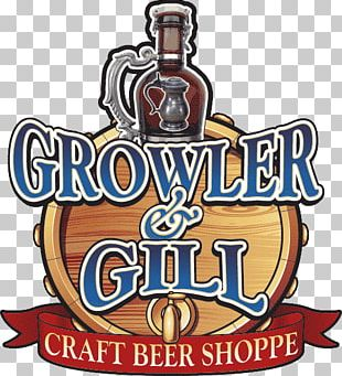 Growler & Gill Logo Beer Font PNG