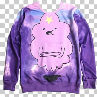 Lumpy Space Princess Hoodie T-shirt Bluza Princess Bubblegum PNG