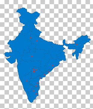 States And Territories Of India Map Graphics Illustration PNG