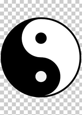 Symbol Yin And Yang PNG