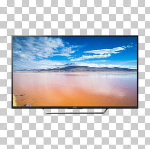 LED-backlit LCD Smart TV 4K Resolution Sony Bravia PNG