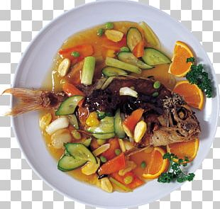 Asian Cuisine Thai Cuisine Dish Food Fish PNG