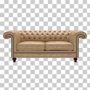 Couch Loveseat Furniture Wing Chair PNG