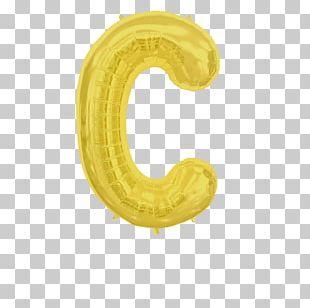 Mylar Balloon Letter C BoPET PNG