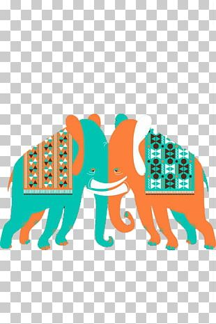 Elephant Euclidean PNG