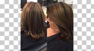 Hair Coloring Blond Bob Cut Brown Hair PNG