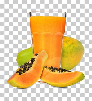 Orange Juice Smoothie Papaya Mango PNG