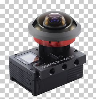 Camera Lens GoPro Hero 4 Fisheye Lens Photography PNG