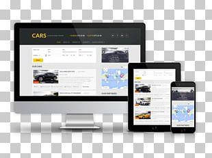 Car Responsive Web Design Joomla Web Template System PNG