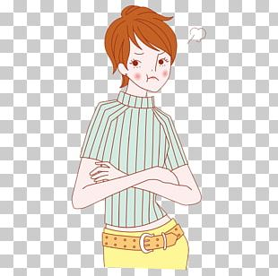 Drawing Woman Cartoon Illustration PNG