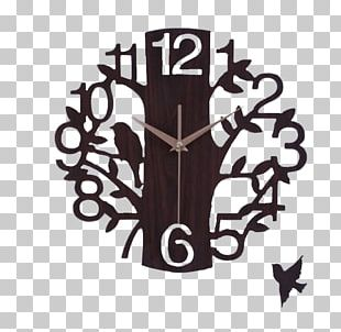 Clock Wood Wall Decorative Arts PNG
