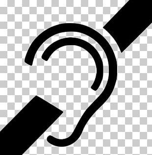 Deaf Culture Hearing Loss Symbol Sign Language PNG