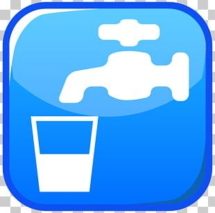 Emoji Drinking Water Symbol Text Messaging PNG