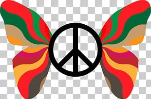 Peace Symbols 1960s Sign PNG