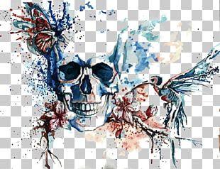 Skeleton Graphic Design Skull Illustration PNG
