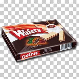 Wafer Chocolate Bar Cream Hazelnut PNG