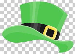 Saint Patrick's Day Hat Shamrock PNG
