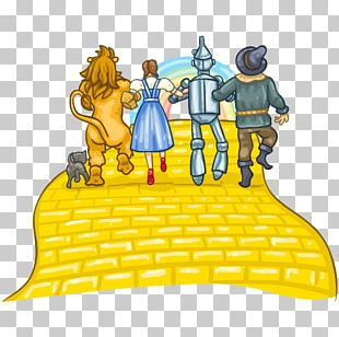 Scarecrow Cowardly Lion Tin Woodman YouTube Yellow Brick Road PNG
