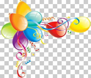 Birthday Cake Balloon PNG