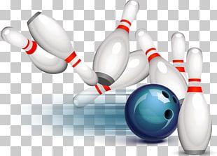 Bowling Ball Bowling Pin Ten-pin Bowling Strike PNG