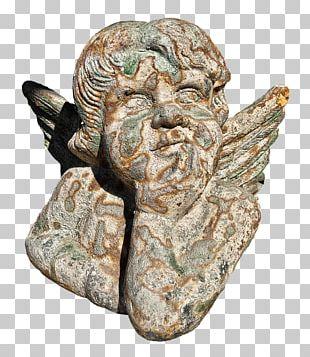 Cherub Angel Sculpture PNG