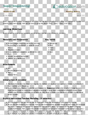 Lesson Plan Writing Pre-school Kindergarten Education PNG