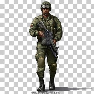 Soldier Army Infantry Military Uniform PNG