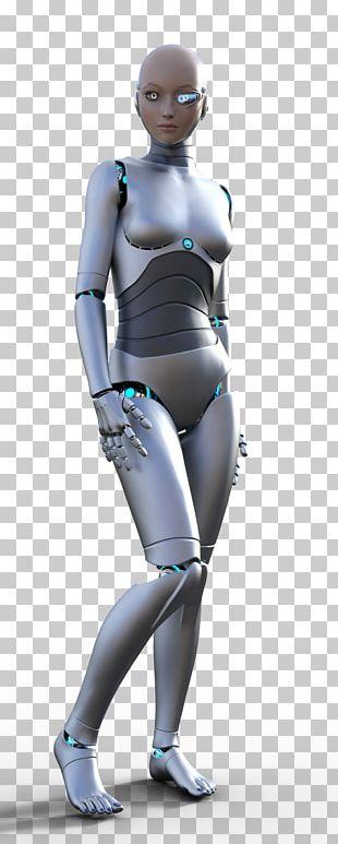 Gynoid Cyborg Renderosity PNG