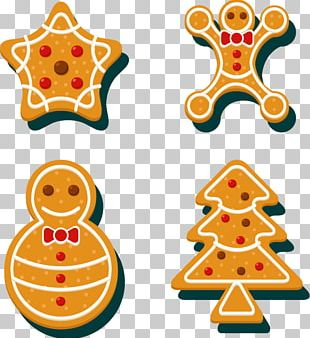 Christmas Tree Cookie Biscuit PNG