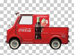 Coca Cola Pickup Delivery Truck PNG