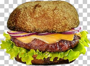Buffalo Burger Hamburger Cheeseburger Fast Food Breakfast Sandwich PNG