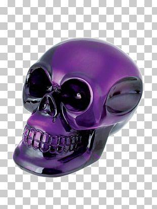 Skull Art Skeleton Calavera Purple PNG