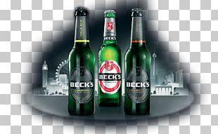Beck's Brewery Beer Bottle London Berlin PNG