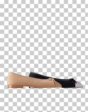 Chanel Slip-on Shoe Ballet Flat Sandal PNG