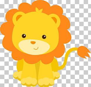 Lion Infant Baby Shower Child PNG